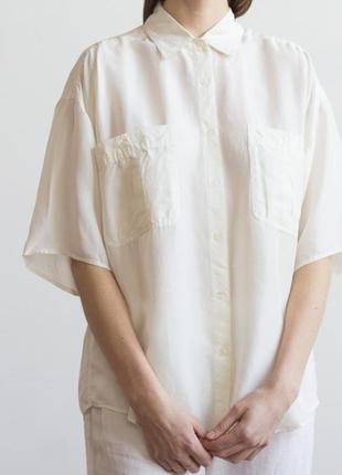 Шёлковая рубашка