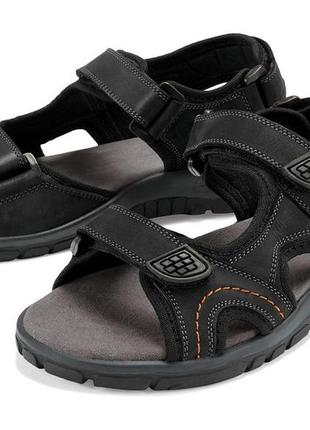 Мужские кожаные сандали crivit германия р. 45