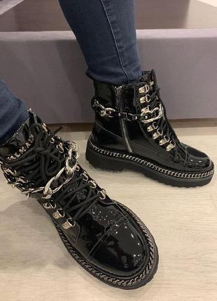 Крутые осенние ботинки balmain, под заказ