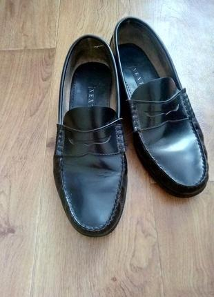 Мужские кожаные туфли next✔️