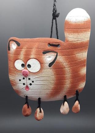 Интерьерный кот  толстячок пано