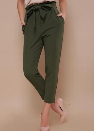 Укороченные брюки чинос, 4 цвета
