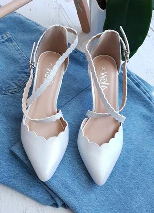 Туфли белые лодочки,вечная классика 🤩