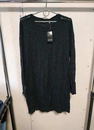 Длинный свитер платье размер l 18-20