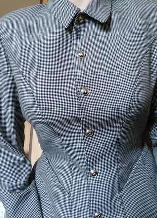Костюм жакет юбка качество люкс mugler 💯💥💫🤍🖤