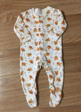 Человечек брендовый для новорожденного