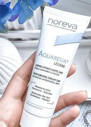 Noreva aquareva hydratante 24h legere крем