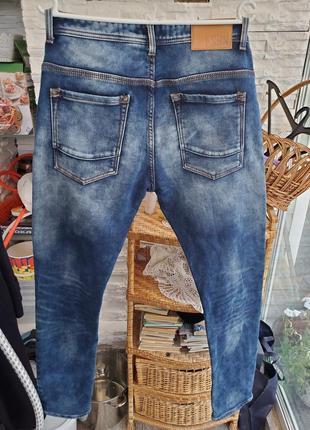 Мужские стрейчевые джинсы fsbn 34 р