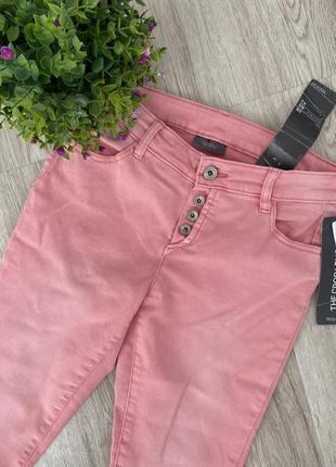 Штаны,брюки,джинсы розовые