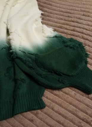 Новинка свитера кофты омбре оверсайз 3 расцветки3 фото