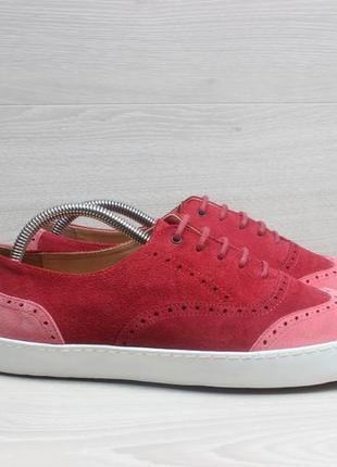 Замшевые женские туфли / кеды penelope chilvers, размер 41 (броги)