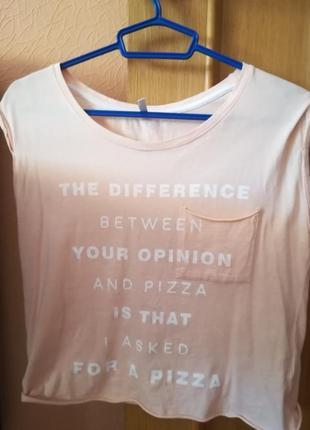 Новая женская  футболка cropp