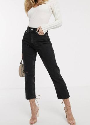 Плотные, качественный джинсы mom river island