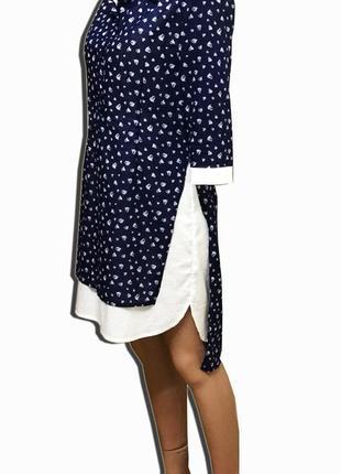 Летнее женское платье платье -рубашка рубашка женская