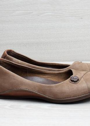 Кожаные женские туфли/ балетки timberland оригинал, размер 37 - 37.5