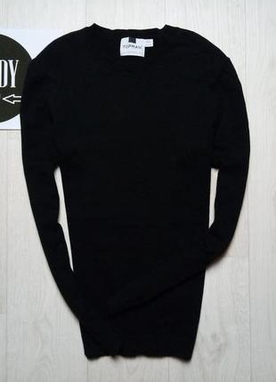 Черный джемпер topman, размер m
