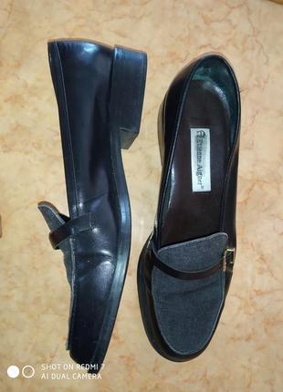 Туфлі шкіра etienne aigner 25,5см