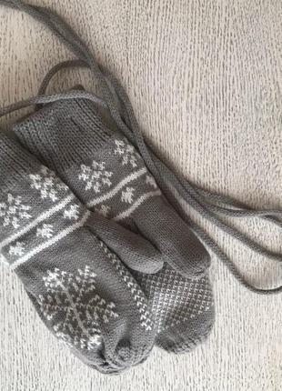 Рукавиці, рукавички, зимові/зимние 149 грн нові