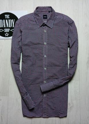 Стильная рубашка hugo boss, размер m