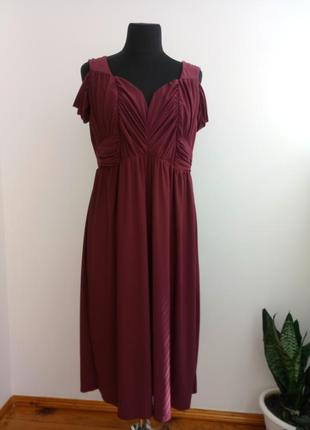 Вечернее платье с открытой спиной на ог 120 см 18 р от asos