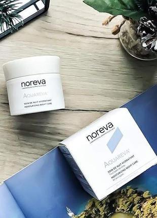 Noreva aquareva крем ночной увлажняющий уход 24 часа