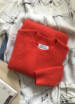 Яркий хлопковый/ с хлопком свитер/джемпер