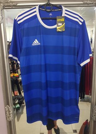 Мужская спортивная футболка adidas, оригинал - л - на м, л