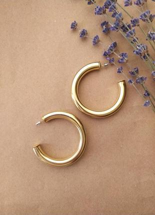 Сережки / серьги / кольца / колечки / большие / велик кільцяі