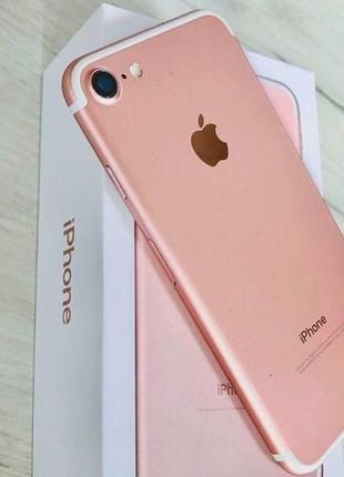 Телефон iphone 7 32 rose