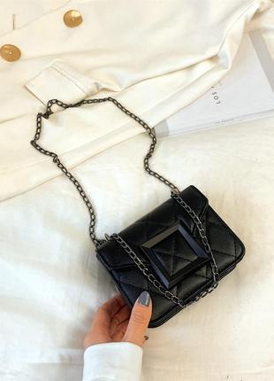 Миниатюрная сумочка - клатч