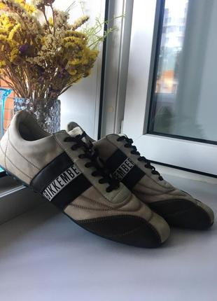 Bikkembergs кожаные кроссовки кеды