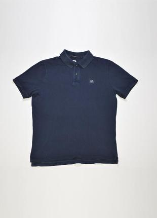Футболка, поло c.p. company regular fit ss polo shirt