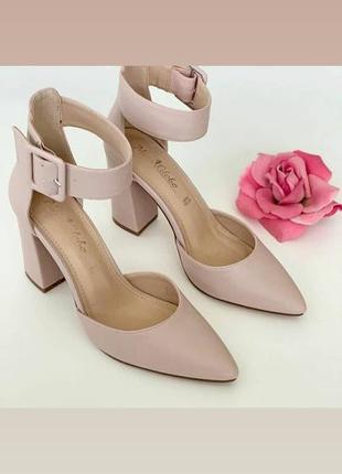 Закрытые туфли-босоножки, италия