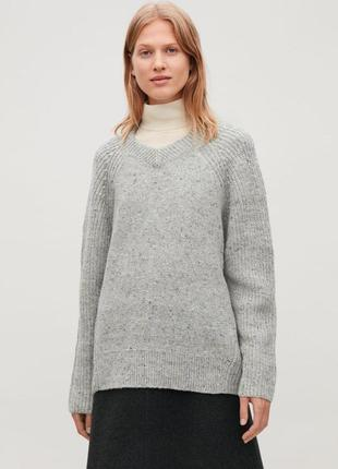 Шерстяной свитер оверсайз cos