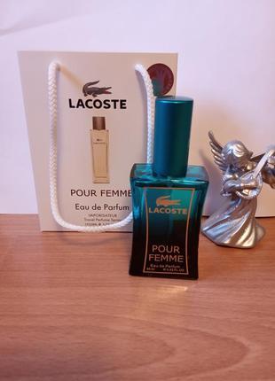 Франция,новый!скпер стойкий аромат!!!парфюм,духи,lacoste pour femme(лакост пур фем)