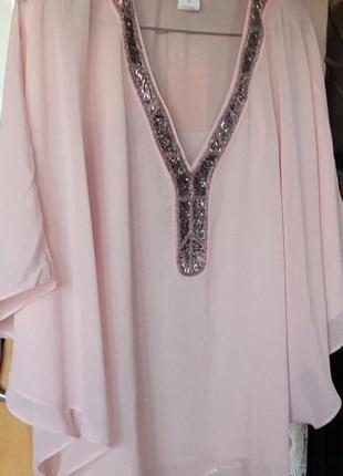 Розпродаж шафи перед літом! блузка з бісером