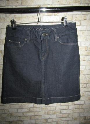 Джинсовая юбка р-р s-26 сост новой от esprit
