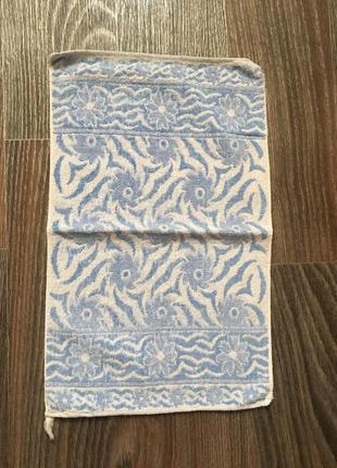 Полотенце для лица италия. красивое маленькое полотенце