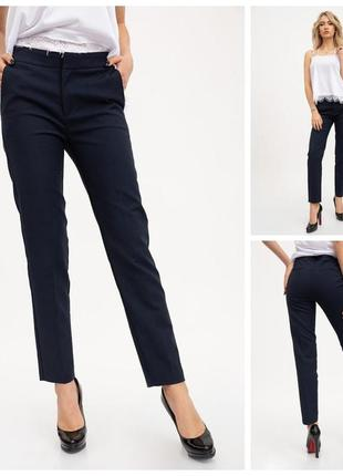 Темно синие брюки, классика