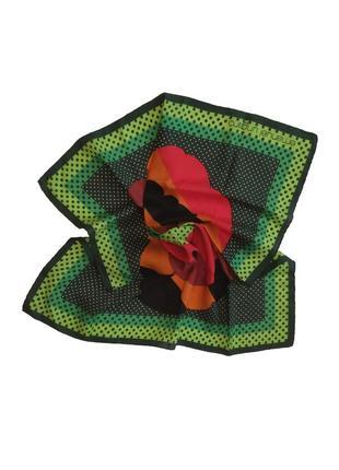 Яркий  шейный платок emanuel ungaro италия /4217/