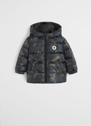 Куртка осінь на хлопчика mango baby