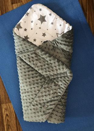 Конверт -одеяло на выписку фирмы smik