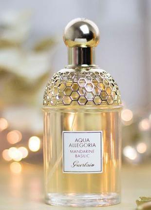 Миниатюра guerlain aqua allegoria mandarine basilic 7,5 ml оригинал