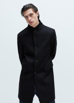 Шерстяное пальто zara, размеры m, xl