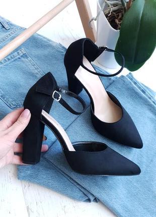 Туфли черные glamorous,англия