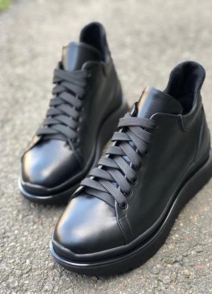 Женские короткие демисезонные ботинки 6716д
