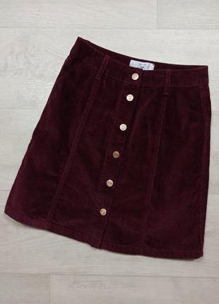 Вельветовая юбочка