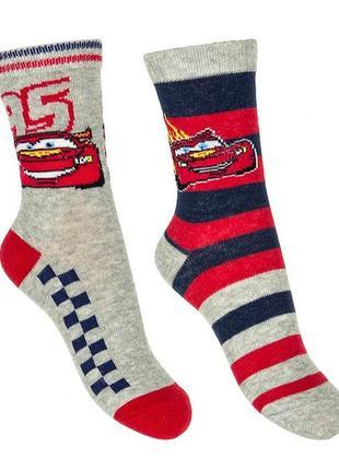 Яркие носки для мальчика, тачки, cars, disney
