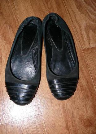 Замшевые балетки, 38 р-р