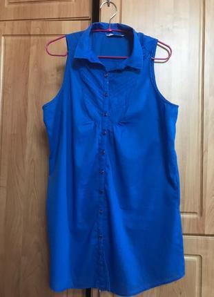Синяя блуза stradivarius